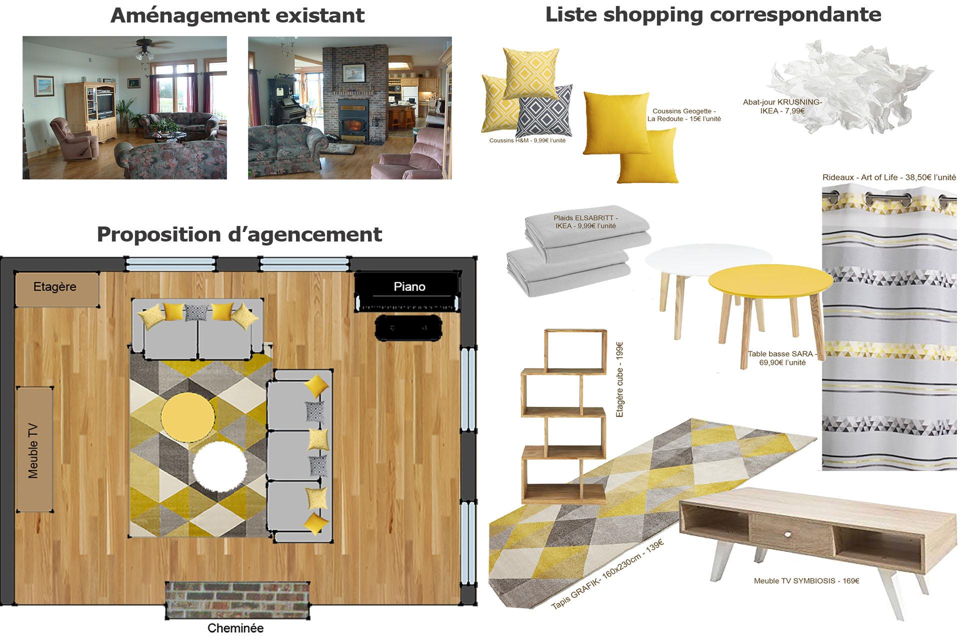 Home Staging Meuble Tv atelier18 - design et décoration d'intérieur